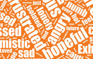Words that capture our emotions